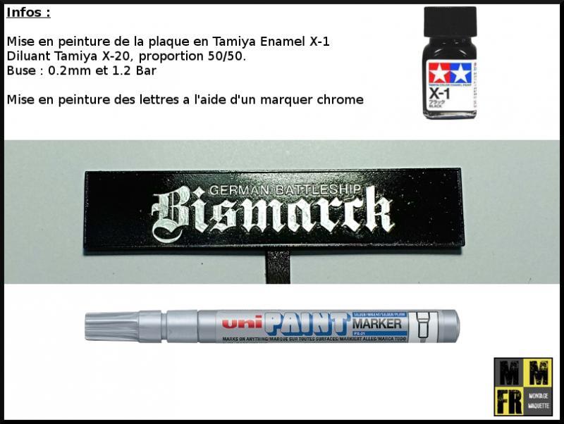 Bismarck 1/350 Tamiya  ZYb43