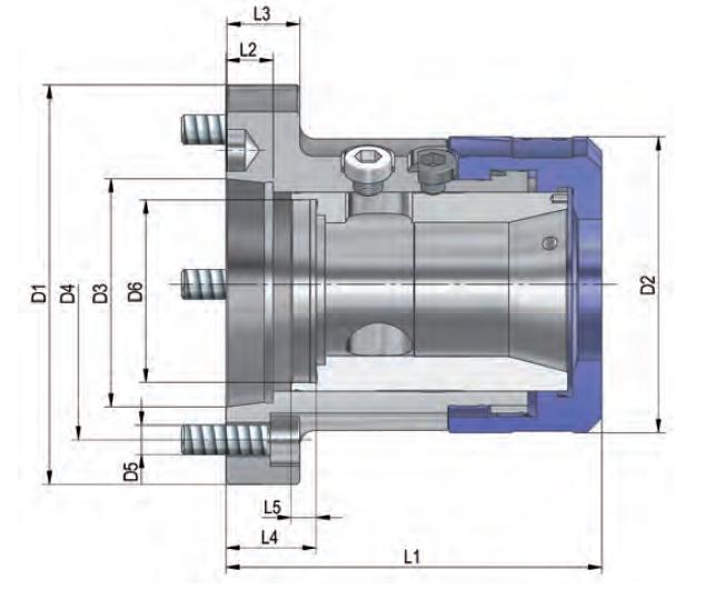 Projet de fabrication d'un verin hydraulique pour mandrin à pinces ZqJk1
