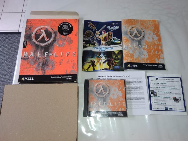[Vds] 3 jeux Big Box - Half Life + Half Life Blueshift et Daikatana Maj dernier prix lot : 60 in A0rZA