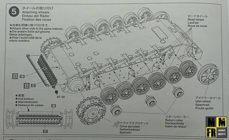 Tamiya Sturmgeschutz III - 1/35 A7XJR
