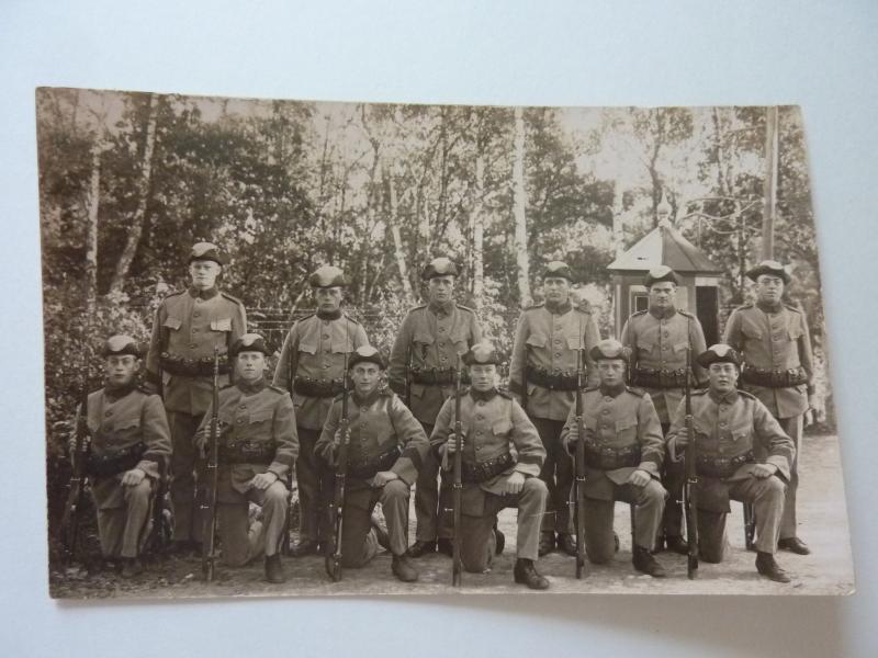 Tricorne d'infanterie modèle 1910 1er Régiment de la Garde Suèdoise  A7laE