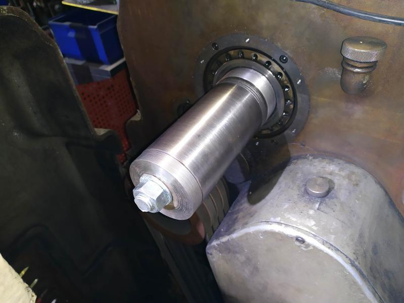 Remplacement des roulements de broche sur tour Graziano SAG 508 A7nYp