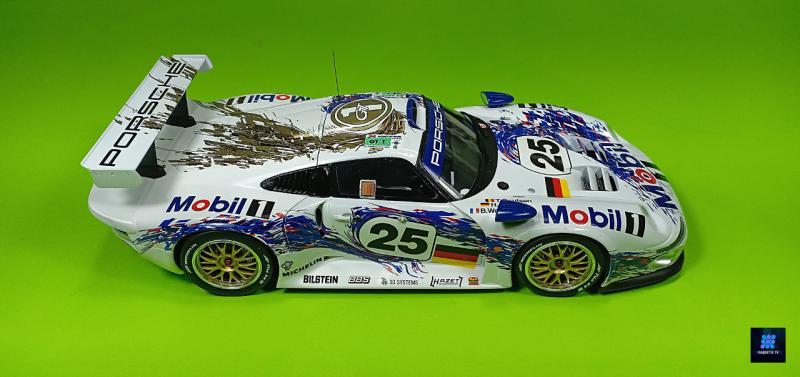 Tamiya Porsche 911 Gt1 Par guillaume.b allias maquette tv AEX7R