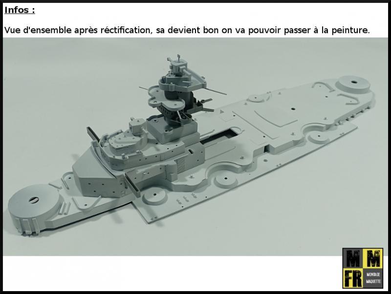 Bismarck (Tamiya 1/350°) par MaquetteTv - Page 4 ARn3e