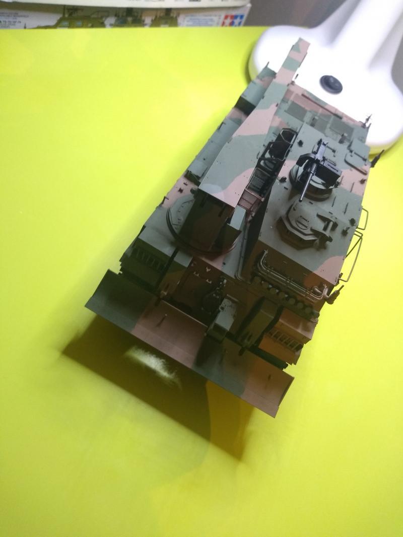 [Convoi] Type 90 MBT et ARV Tamiya + Etokin Model AePvy