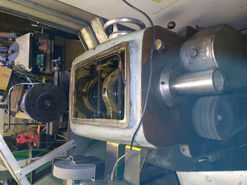 Remplacement des roulements de broche sur tour Graziano SAG 508 B7jNa