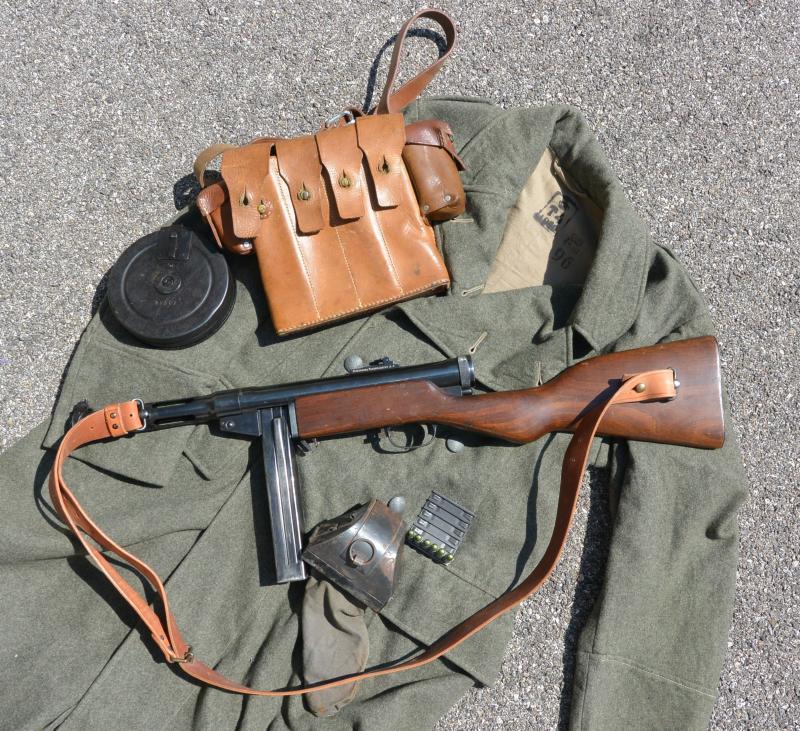 Pistolet mitrailleur 37/39 Suédois. BKJ0W