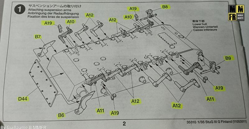Tamiya Sturmgeschutz III - 1/35 D1Y33