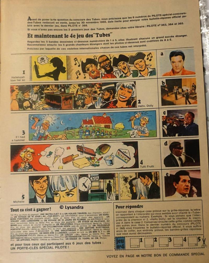"""Concours FORMIDABLE """"Le jeu des tubes""""  DKaw3"""