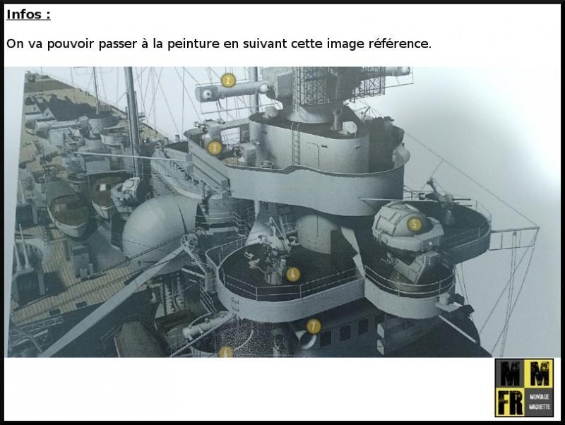 Bismarck (Tamiya 1/350°) par MaquetteTv - Page 4 DOeGE