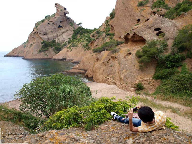 Calanque de Figuerolles (Un petit coin de Paradis)  DOx9r