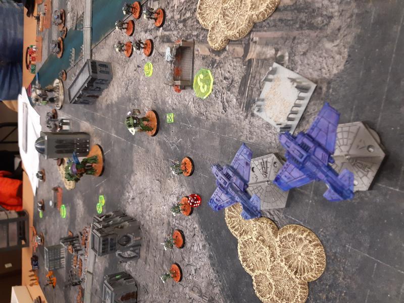 Rapport de bataille Chevalier VS Death Korp DdeL3