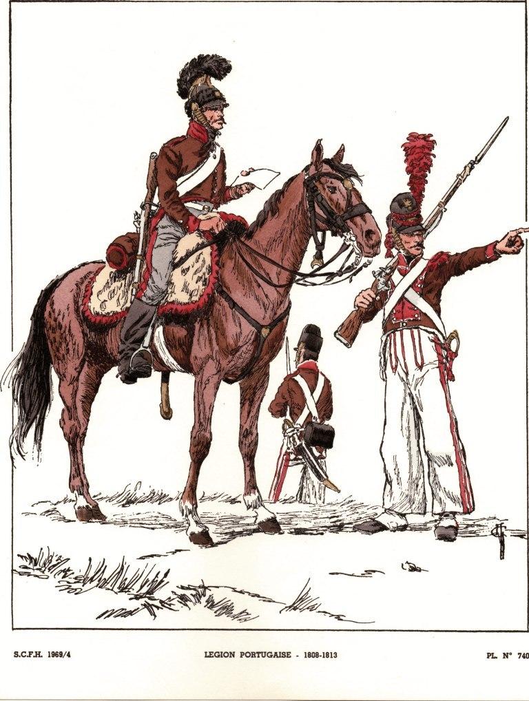 la Légion Portugaise EA4LL