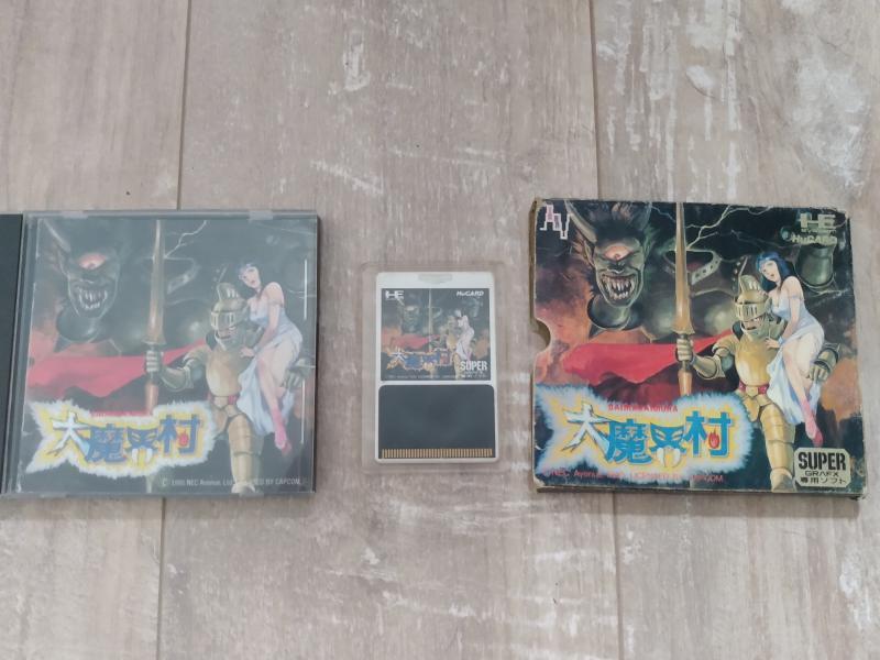 [Estim] Console Supergrafx et JEUX !!! Ea4gx