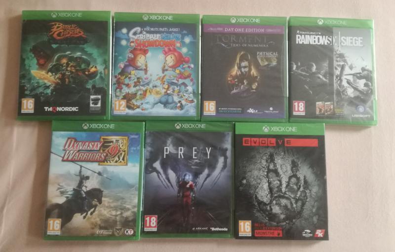 [VDS] Collectors ps4, Collectors Xbox One, jeu Breath of the wild WiiU.... EdOVx