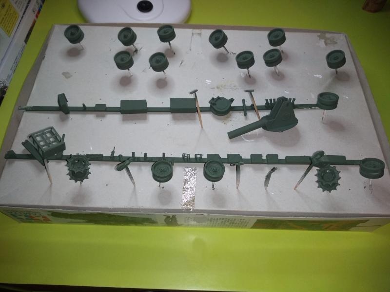 [Convoi] Type 90 MBT et ARV Tamiya + Etokin Model EyAJK
