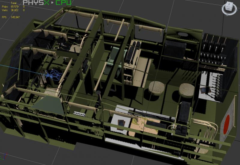 screenshots de la 3D du h6k4 GNooy