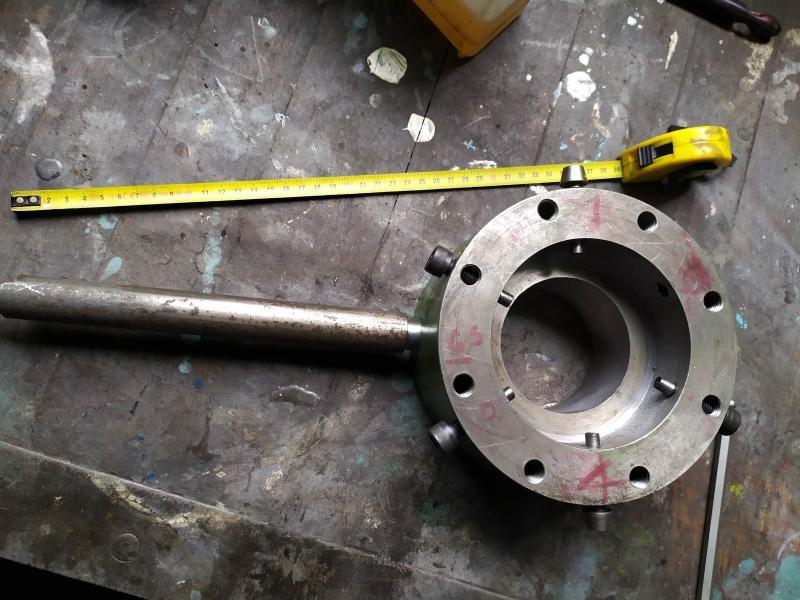 Remplacement des roulements de broche sur tour Graziano SAG 508 Gn3Z7