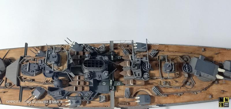 Tamiya Bismarck 1/350 par Guillaune.B ( montagemaquettefr) JDyxv