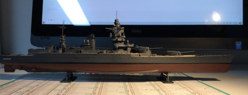 Cuirassé Dunkerque 1/400 JPAVv