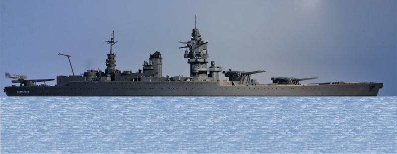 Cuirassé Dunkerque 1/400 JPWDy
