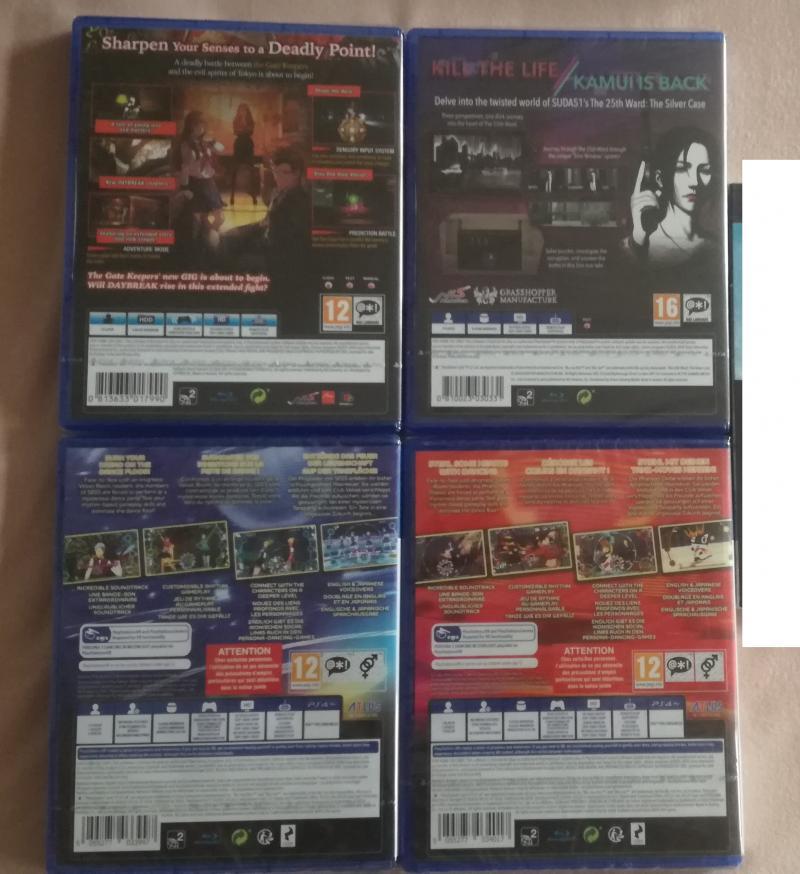 [VDS] Collectors ps4, Collectors Xbox One, jeu Breath of the wild WiiU.... K80eZ
