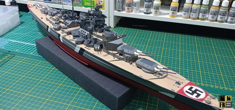 Bismarck 1/350 Tamiya  - Page 8 KOPno
