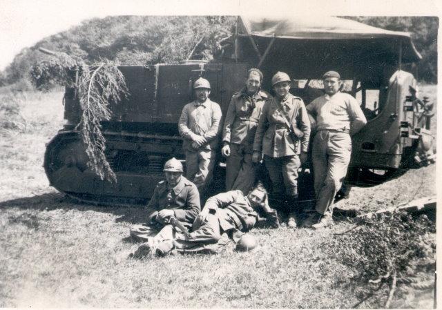 Photo tracteur d'artillerie KRx5e