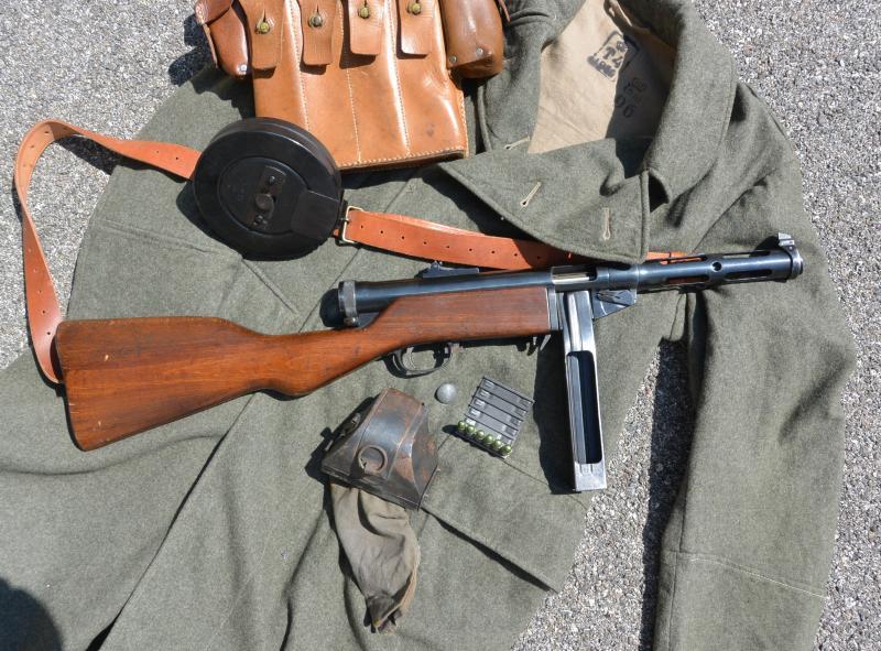 Pistolet mitrailleur 37/39 Suédois. Lg1jA