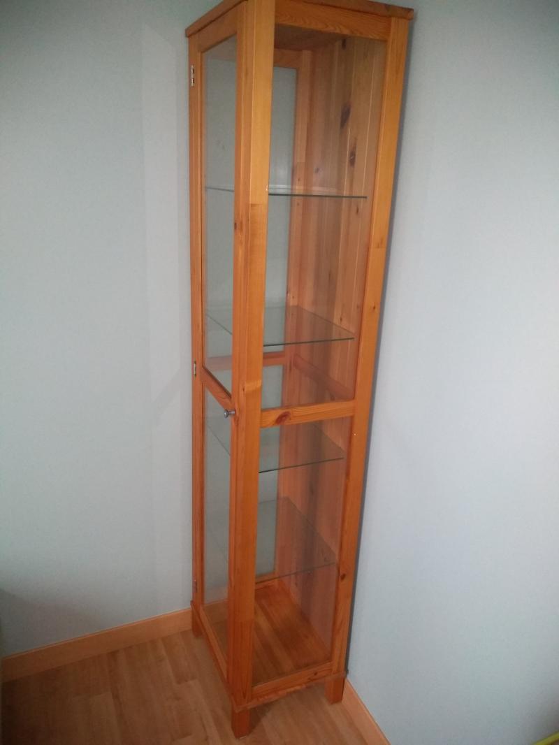 [vendu] vitrine en bois et verre Lpbaw