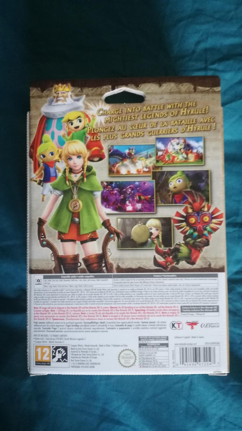 [VDS] Collectors ps4, Collectors Xbox One, jeu Breath of the wild WiiU.... M0m3k