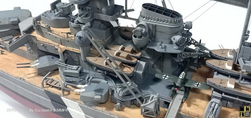 Tamiya Bismarck 1/350 par Guillaune.B ( montagemaquettefr) MDpYO