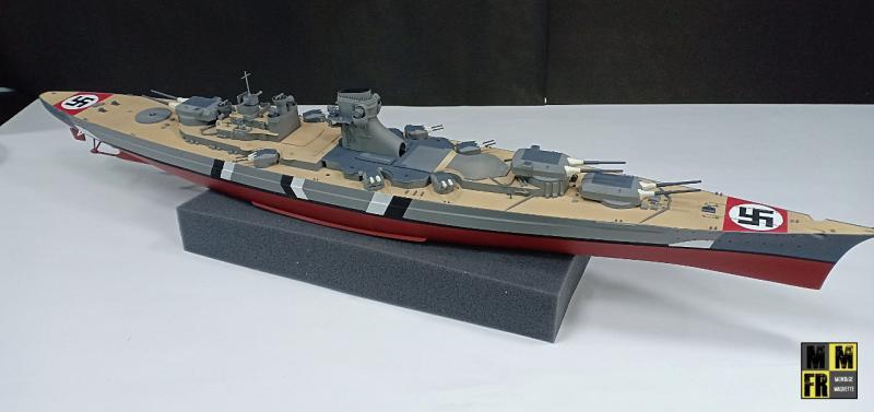 Bismarck 1/350 Tamiya  - Page 8 MKeek