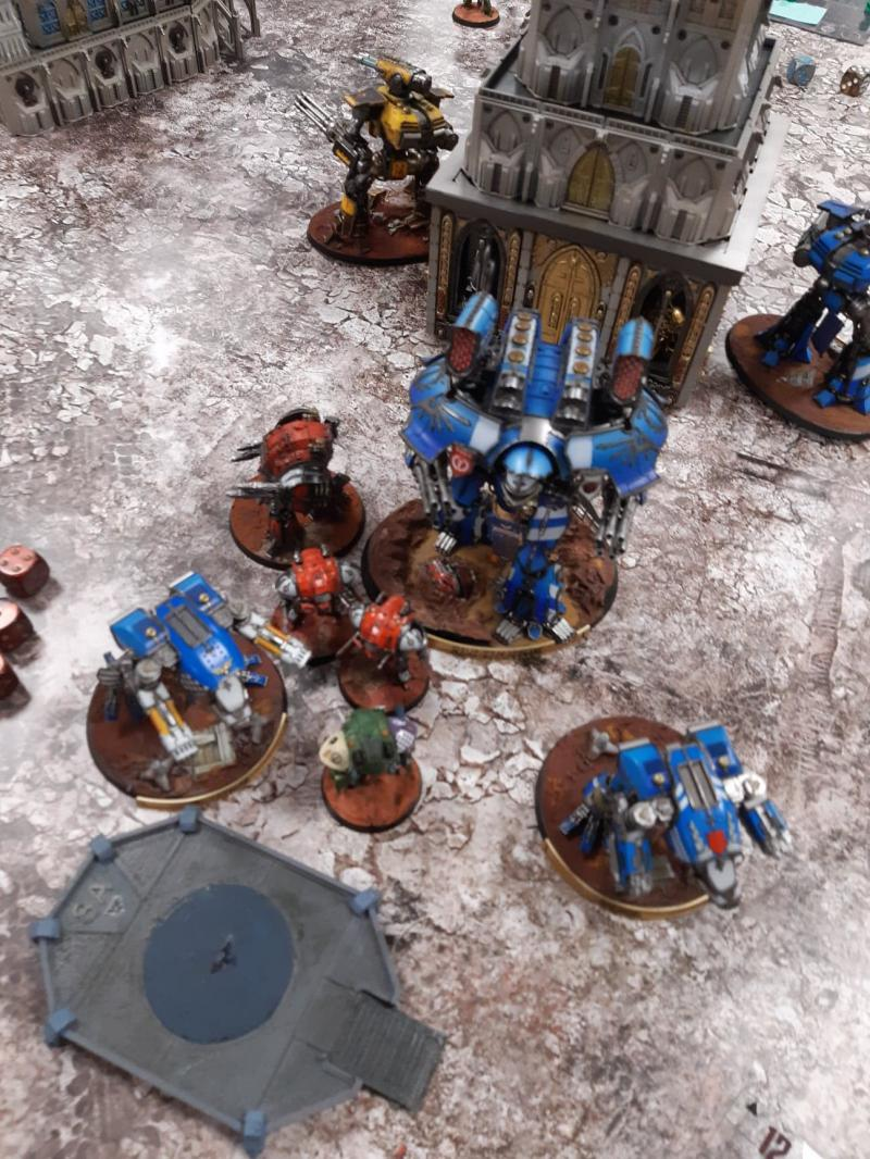 Titan Death, bataille 3 MbZdm