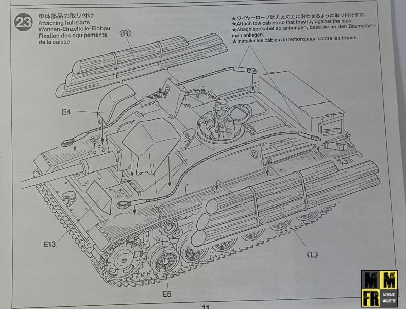 Tamiya Sturmgeschutz III - 1/35 MdDak