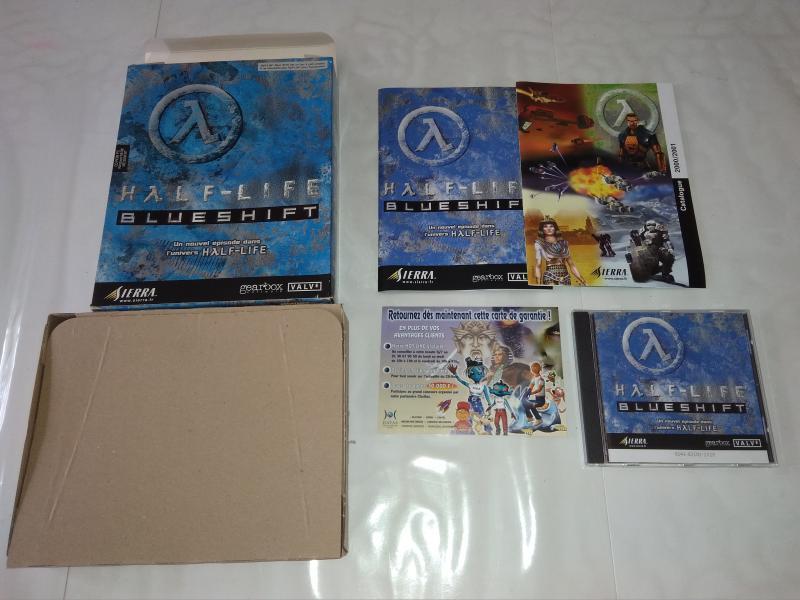 [Vds] 3 jeux Big Box - Half Life + Half Life Blueshift et Daikatana Maj dernier prix lot : 60 in NrX2K