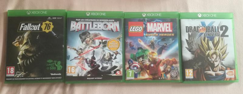 [VDS] Collectors ps4, Collectors Xbox One, jeu Breath of the wild WiiU.... NxOdl