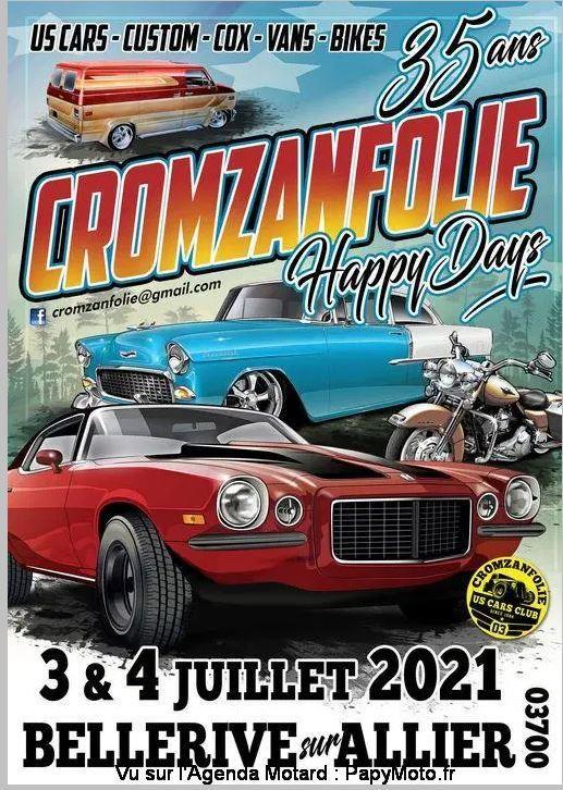 le samedi 3 ou le dimanche 4 juillet Cromzanfolie - 03700 O5Aqn
