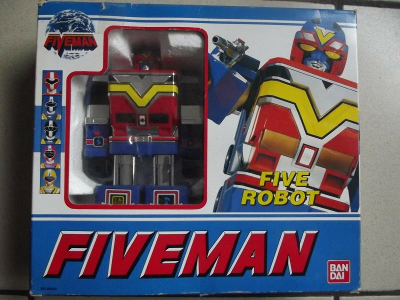 La gamme de jouets Fiveman - Bandai Or9gn