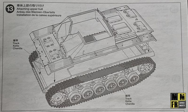 Tamiya Sturmgeschutz III - 1/35 P49QR