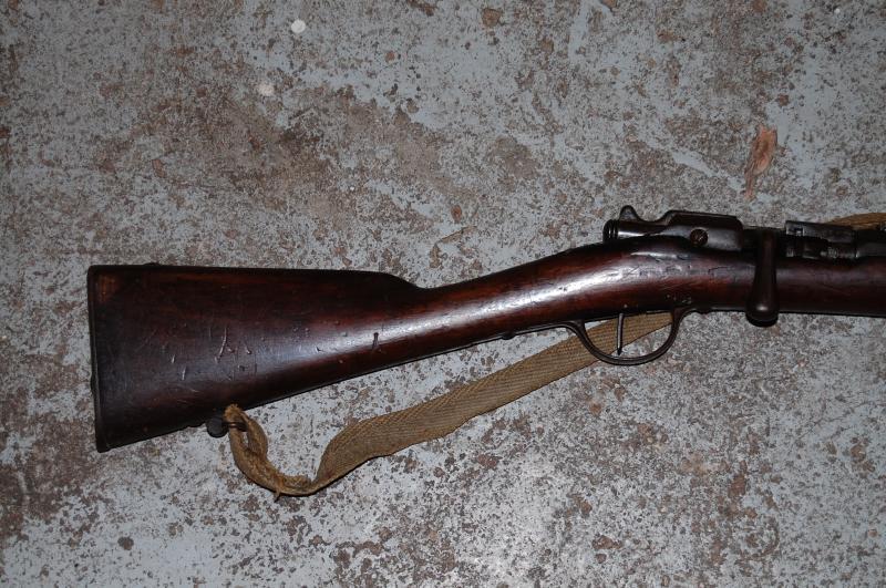 fusil chassepot modifié chasse  P5Apm