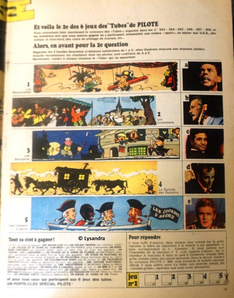 """Concours FORMIDABLE """"Le jeu des tubes""""  P92gN"""