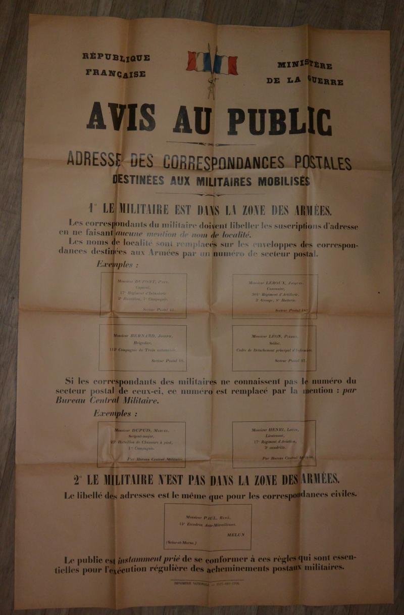 Affiche mobilisation générale 1939 PAXnd