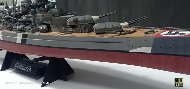 Tamiya Bismarck 1/350 par Guillaune.B ( montagemaquettefr) PD7qR