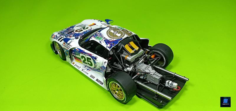 Tamiya Porsche 911 Gt1 Par guillaume.b allias maquette tv Pgxdv