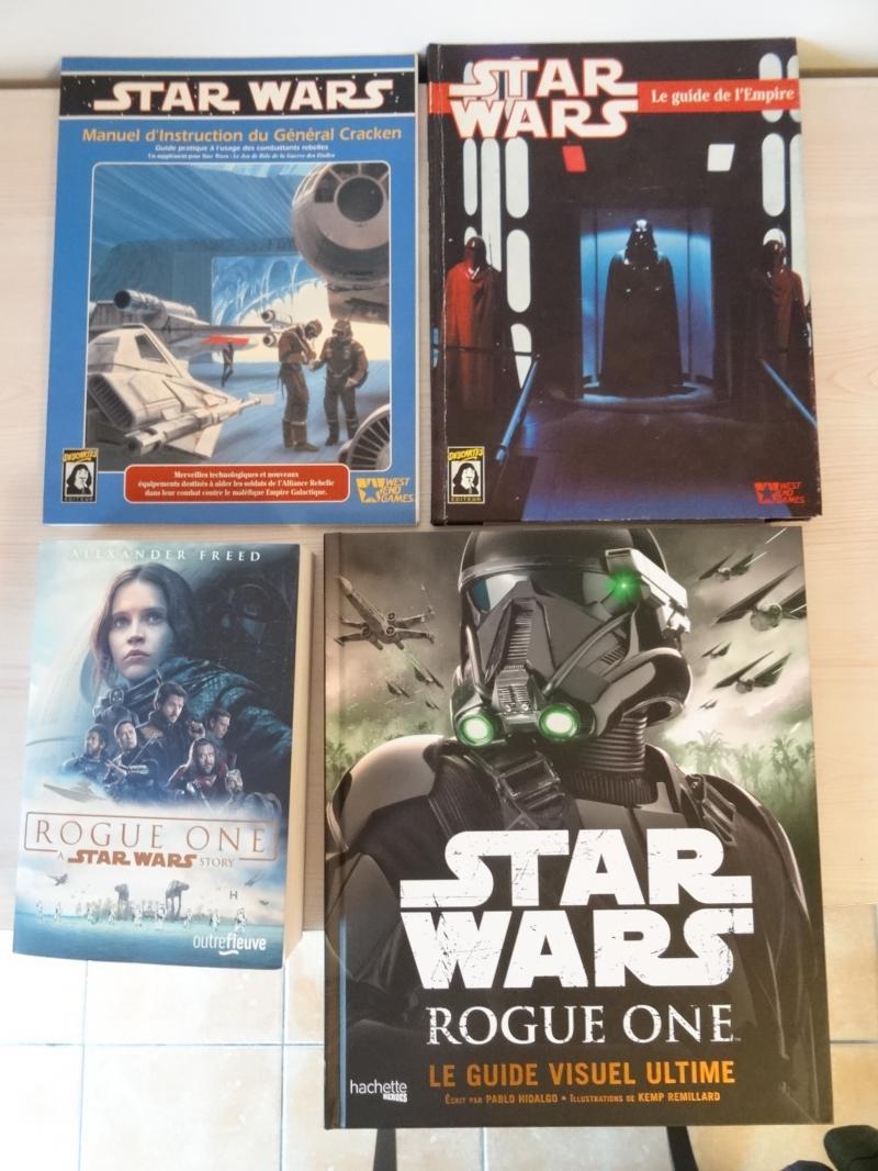 Les livre de jeu de rôle Star Wars et leurs connexions. Q9LVe