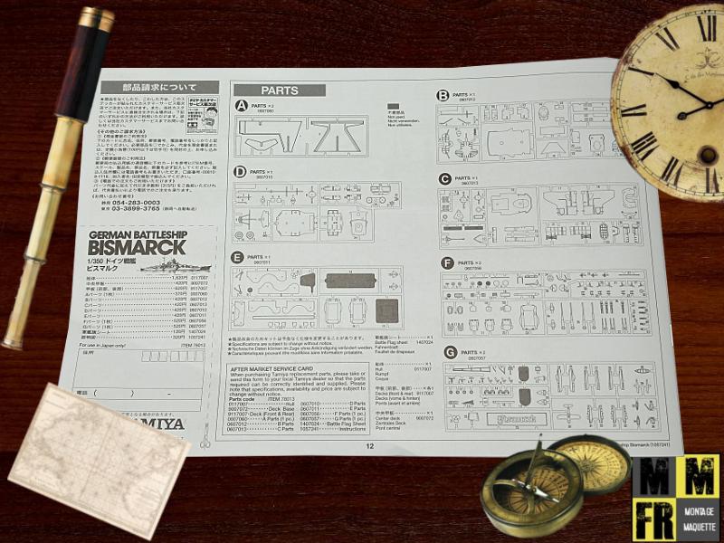 Bismarck 1/350 Tamiya  Qv4vk