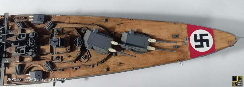 Tamiya Bismarck 1/350 par Guillaune.B ( montagemaquettefr) RDLqd