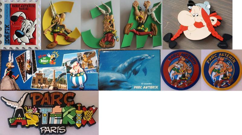 Magnets du Parc Astérix  RN5XD