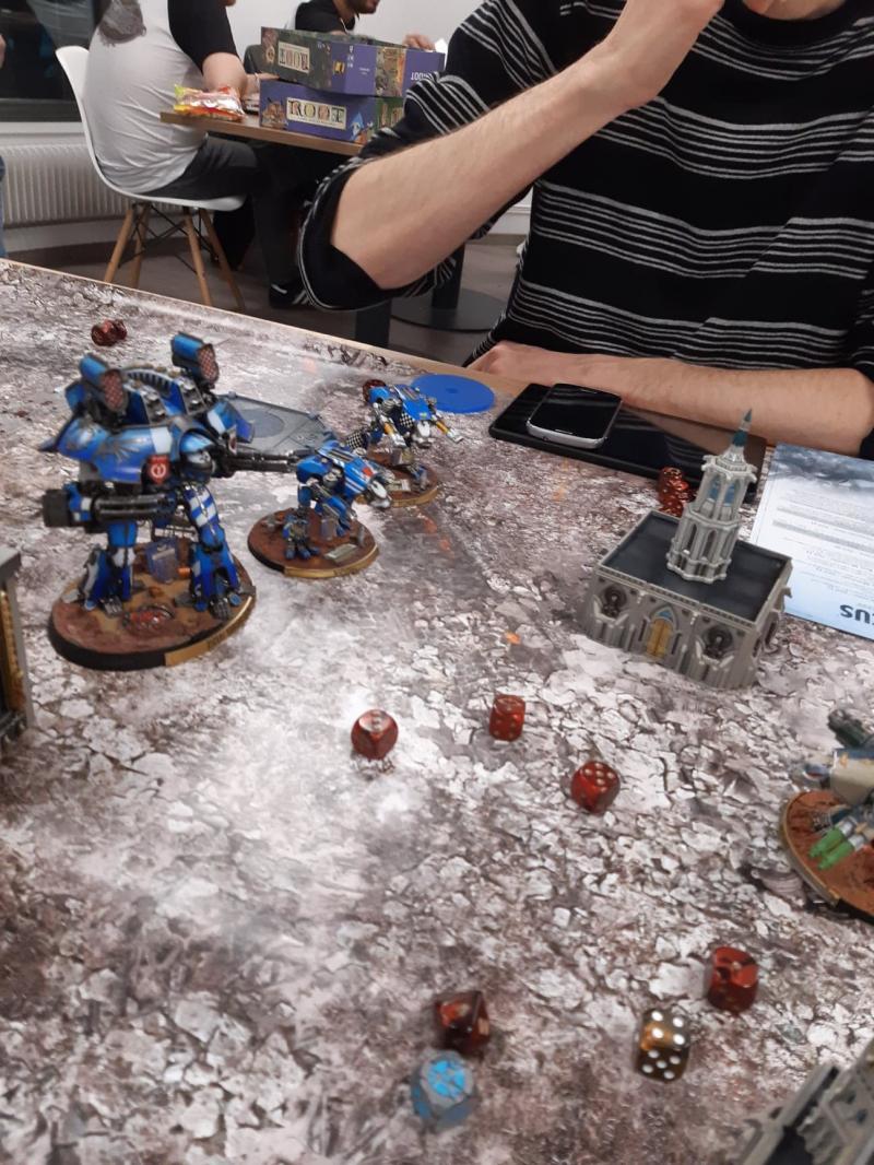 Titan Death, bataille 3 Ra2oj